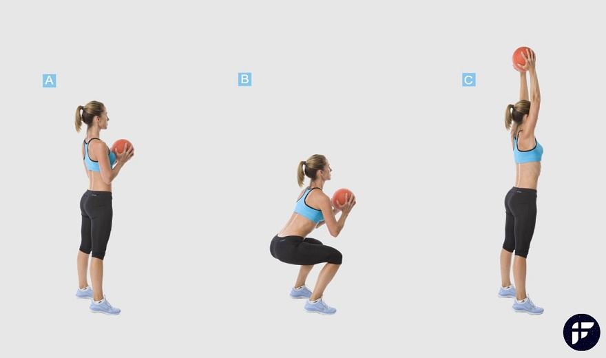 5 bài tập toàn thân khó nhất với quả bóng thuốc bạn có thể thực hiện