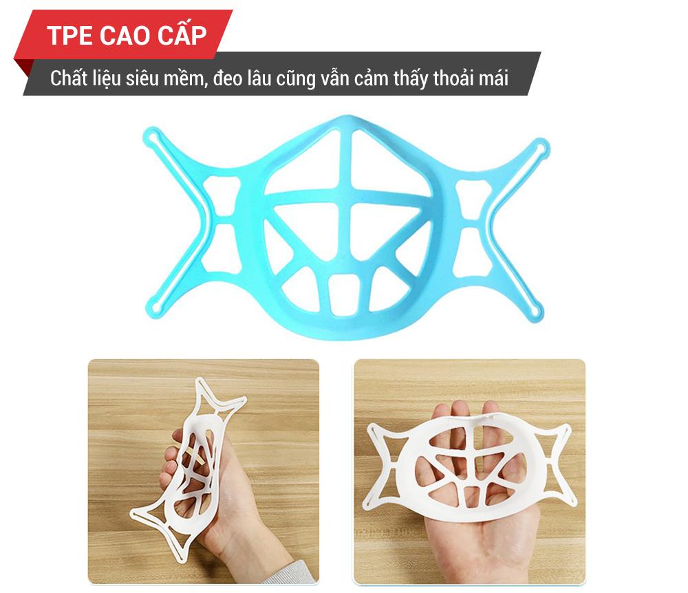 đệm lót khẩu trang 3D TPE
