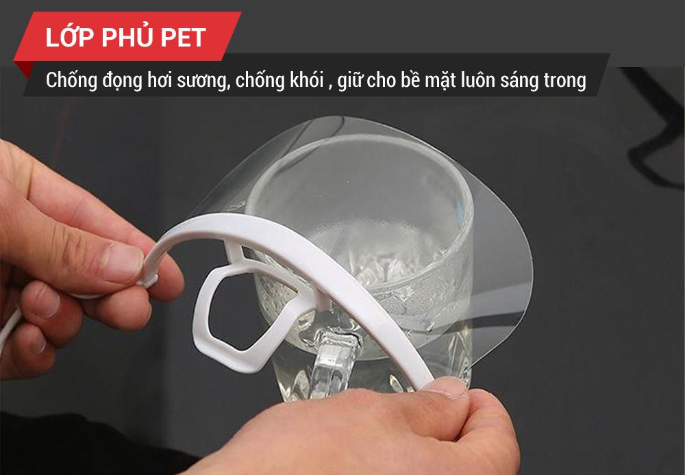 tấm che miệng nhựa trong suốt