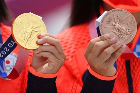 huy chương Olympic Tokyo 2020 được làm từ gì?