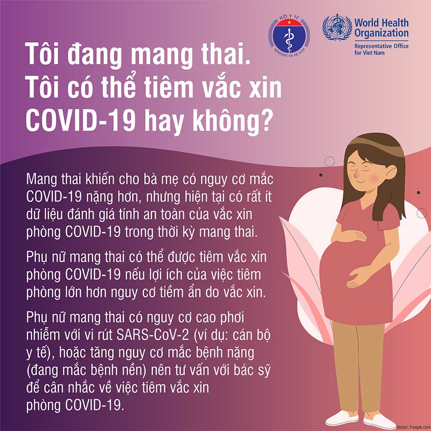 Đang cho con bú liệu có nên tiêm vaccine phòng covid 19 không?