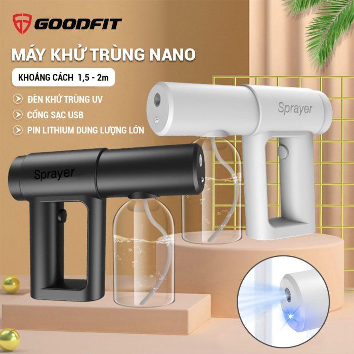 May xit khuan Nano cam tay hang chinh hang GoodFit tro gia 12